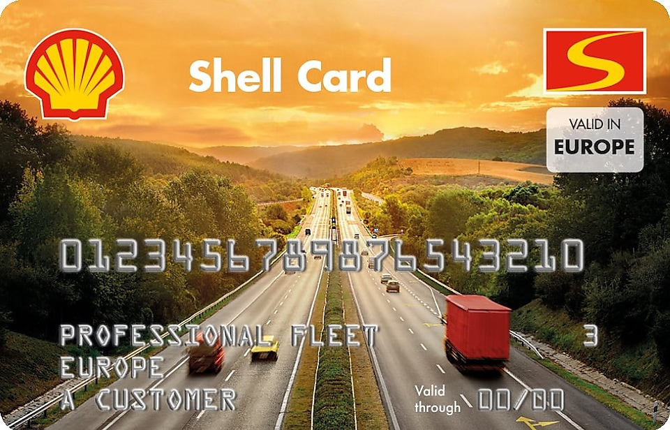 Shell Chip & Pin Card